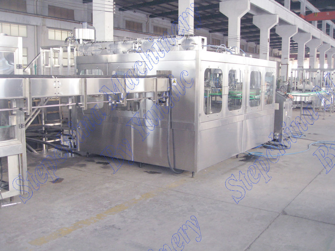 High Efficiency Water Bottle Filling Machine Complete Pure Water Production Line