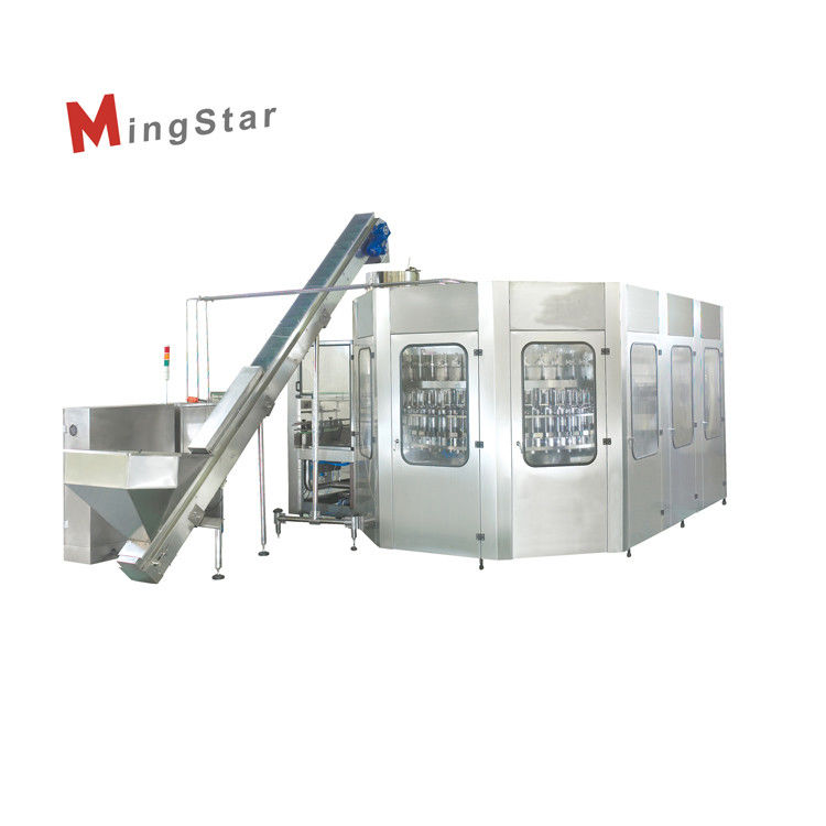Full Automatic Bottled Sunflower Edible Oil Filling Machine , Edible Oil Filling Line